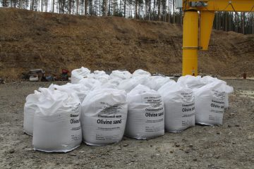 The first Russian production of olivine sand was launched in the Sverdlovsk region.